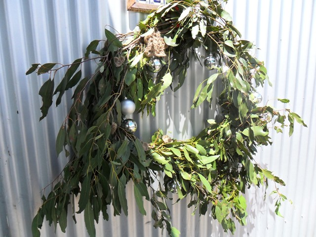 killiecrankie farm aussie christmas wreath