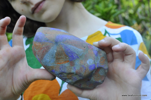 how to make a pet or magical rock -- draw or paint