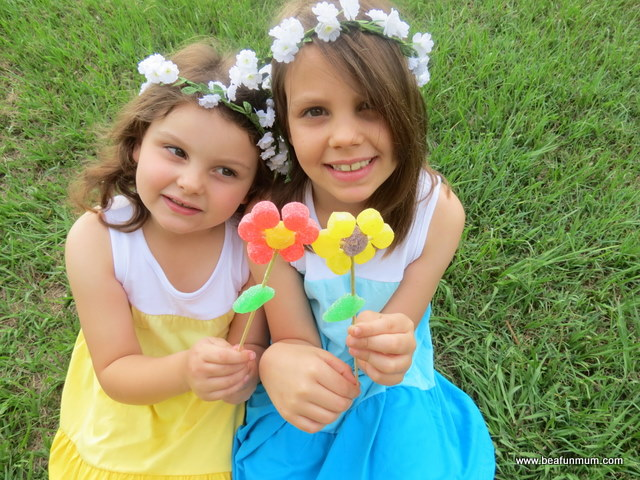 lolly flowers / candy flowers