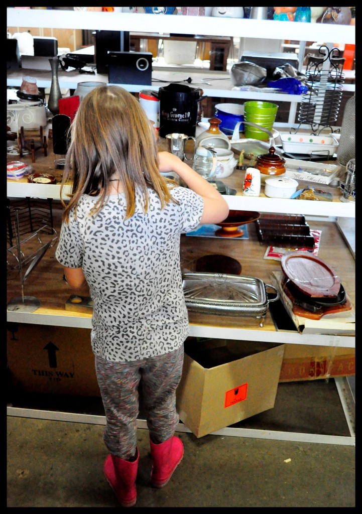 outings for kids -- visit an op shop