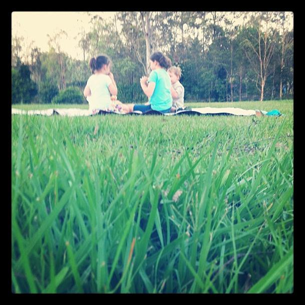 outings for kids -- picnic dinner