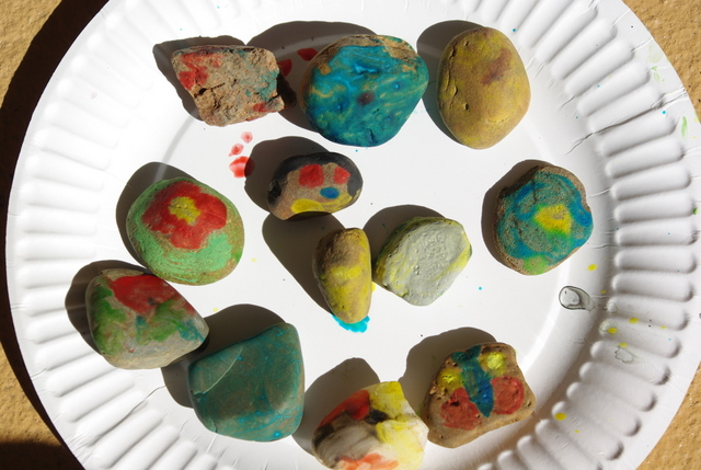 painting rocks -- musical al