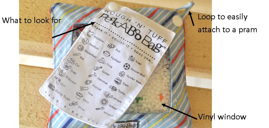 peek a boo bags review