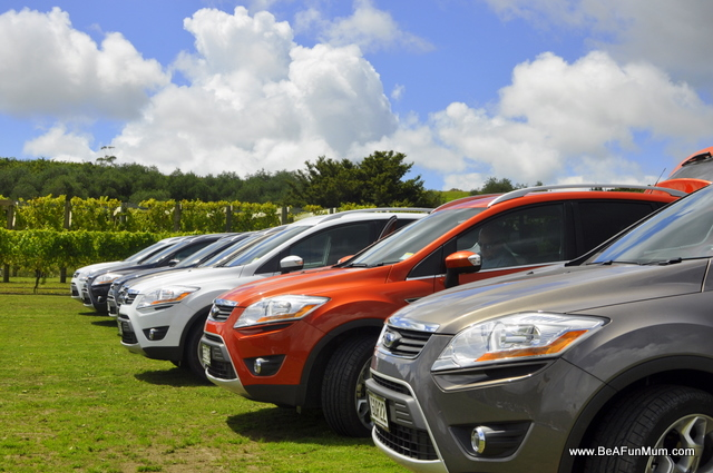 Ford kuga review -- colours