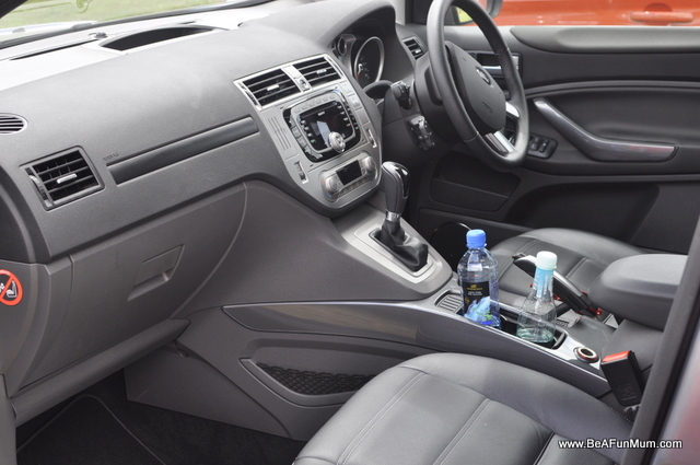 Ford Kuga Review -- Inside is spacious