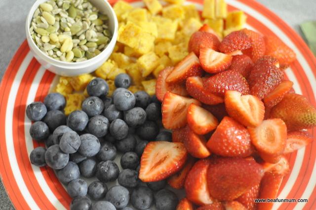 Breakfast Oats and Yoghurt