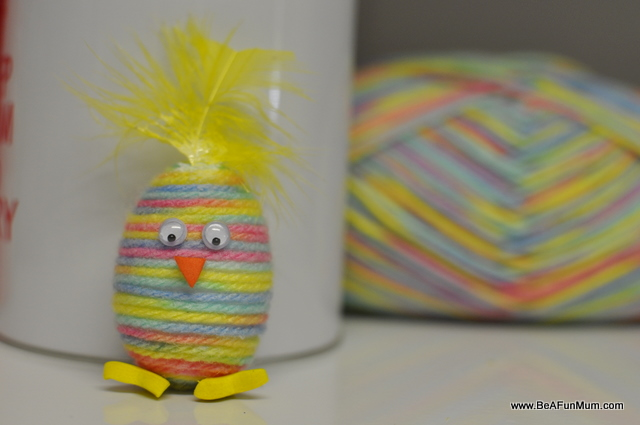 Wool Yarn Easter Egg