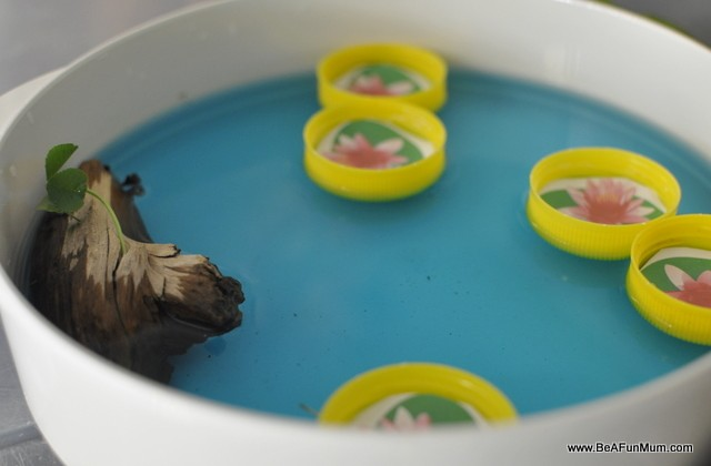 Imaginative Play Scene: Pond