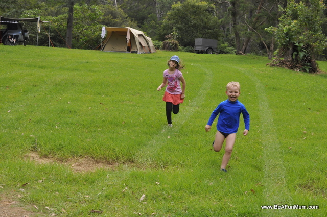 Camping at Jimna, Queensland