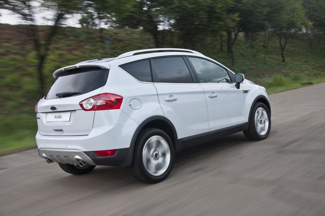Ford Kuga Review -- compact SUV