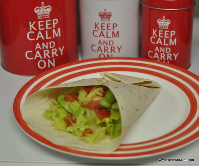 chicken Mexican Burrito wraps recipe