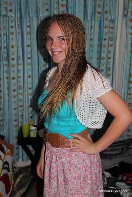 braided Africian Hair