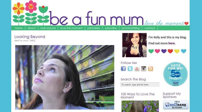 be a fun mum banner 2