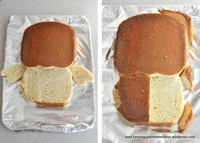 how to make a giggle and hoot cake