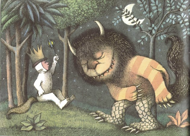 where the wild things are illustrations