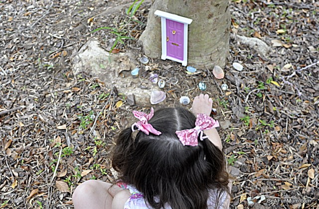 Imaginative Play Scene: A Fairy Door