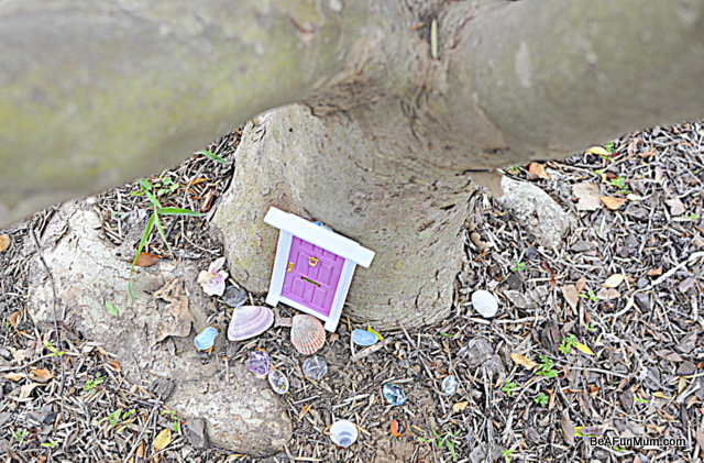 fairy door base of tree