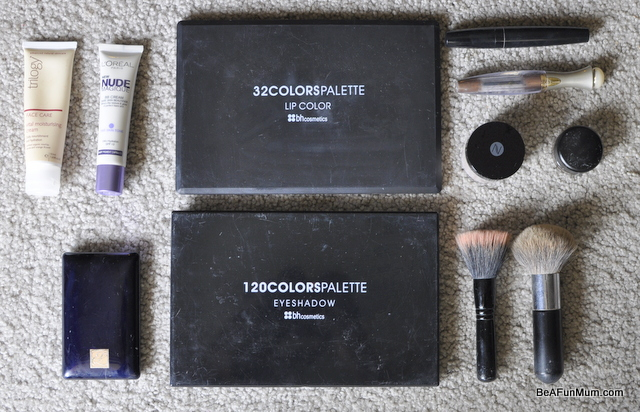 my everyday make up tools