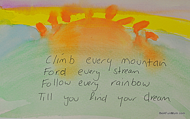 quote climb every mountain sound of music