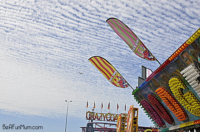 sideshow alley at the ekka