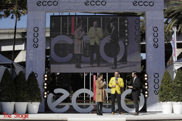 ecco australia world's longest catwalk -- hosted by mia freedman -- Sydney Darling Harbour -- 24 August 2012