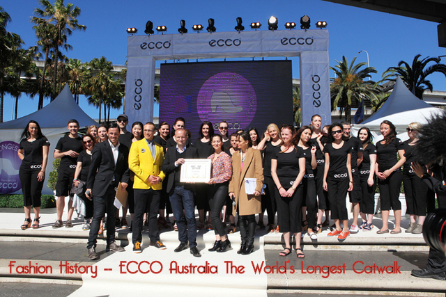ECCO World's Longest Catwalk in Sydney