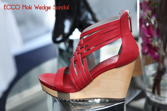 ECCO World's Longest Catwalk in Sydney -- Moki Wedges worn by Kelly Burstow -- Be A Fun Mum