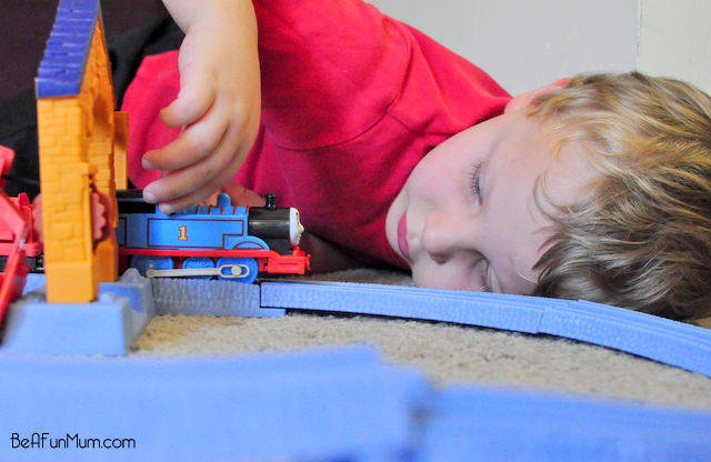 Trackmaster Risky Rails Bridge Drop train set Blue Mountain Quarry -- ultimate trackmaster competition