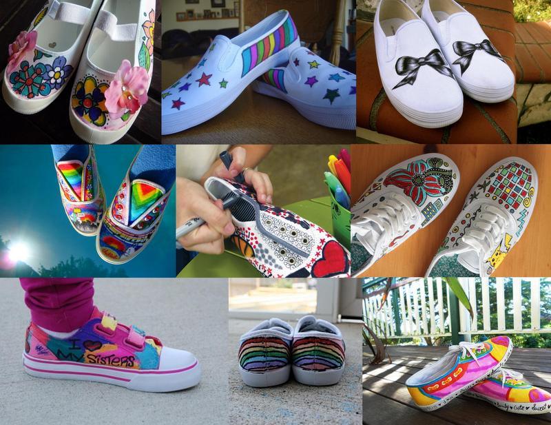 sharpie shoe designs