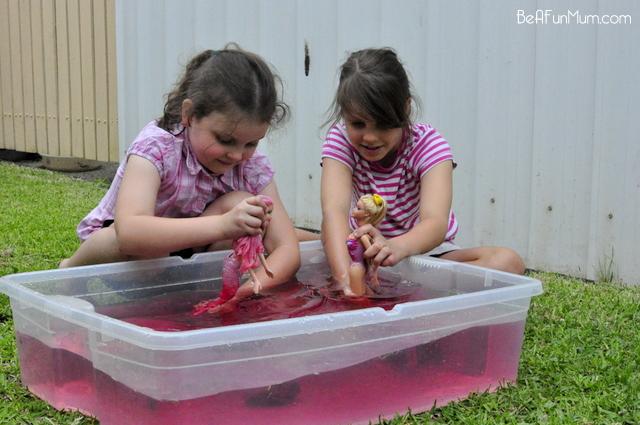 play scene -- water