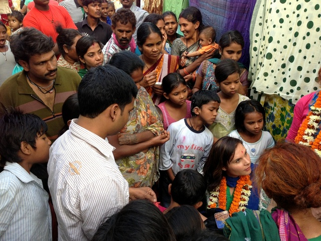 meeting my world vision sponsor child in india