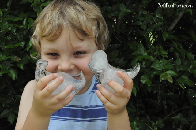 dinosaur ice blocks