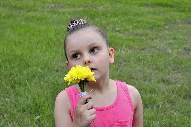 posy of flowers