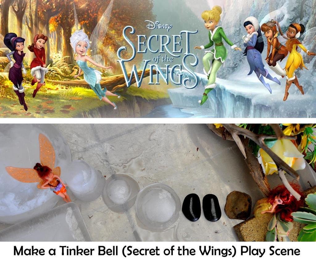 tinker bell play scene