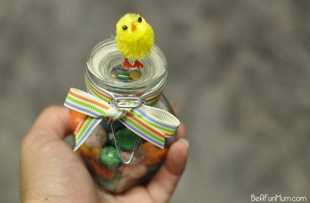 Easter Chicky Jars