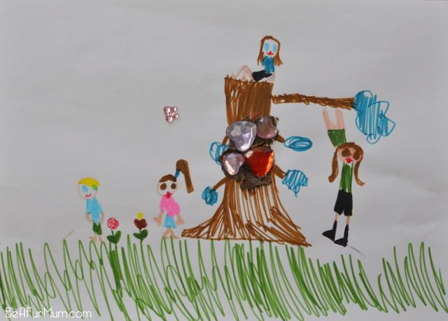 magic tree drawing