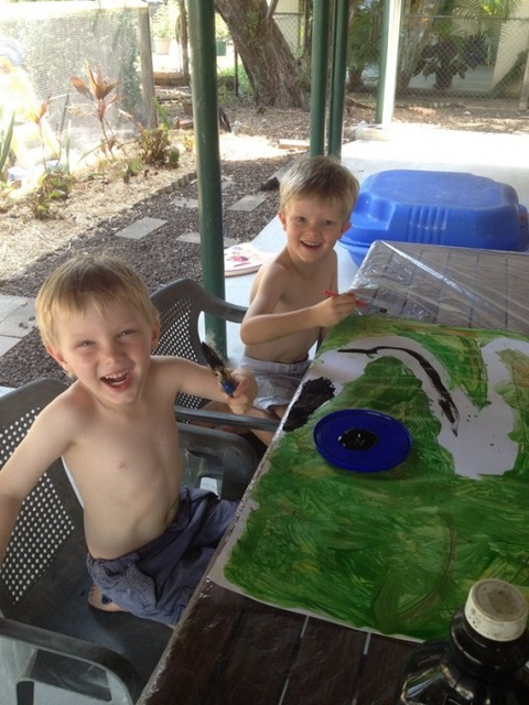 school holiday fun -- fun for boys