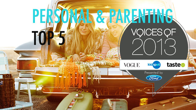 top 5 personal and parenting bloggers kidspot