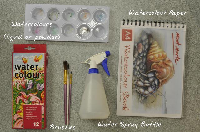 watercolour painting tutorial