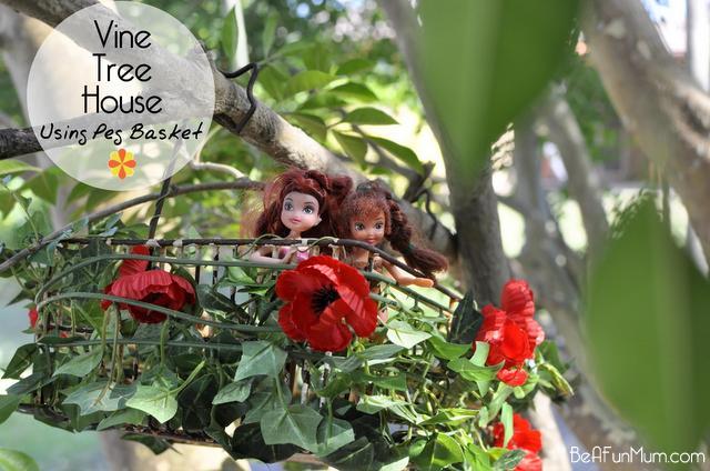 vine treehouse
