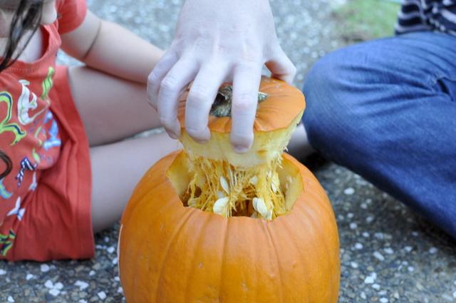 how to carve a decorative pumpkin