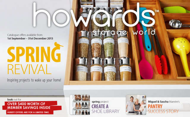 howards storage catalog