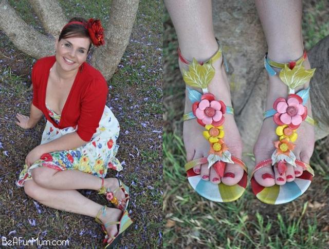 flower shoes floral shoes