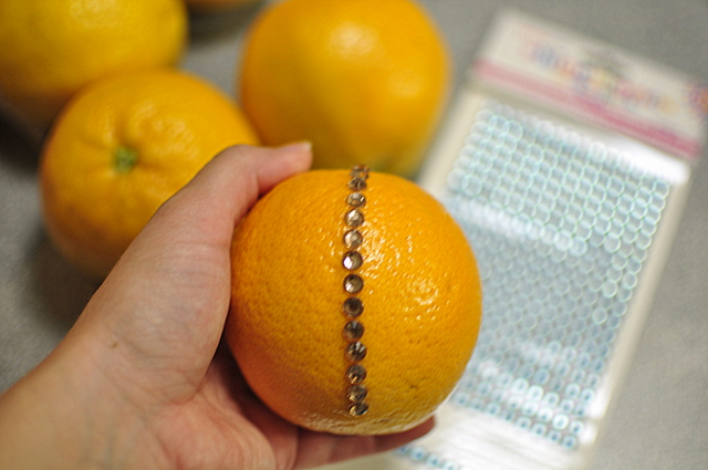 decorative fruit oranges