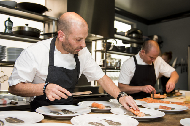 George Calombaris for Morning Fresh