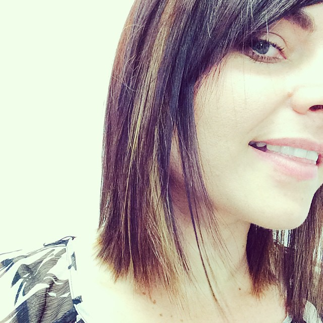 long bob hair cut