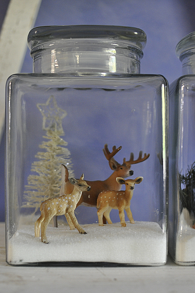 Christmas Scene In A Jar Be A Fun Mum