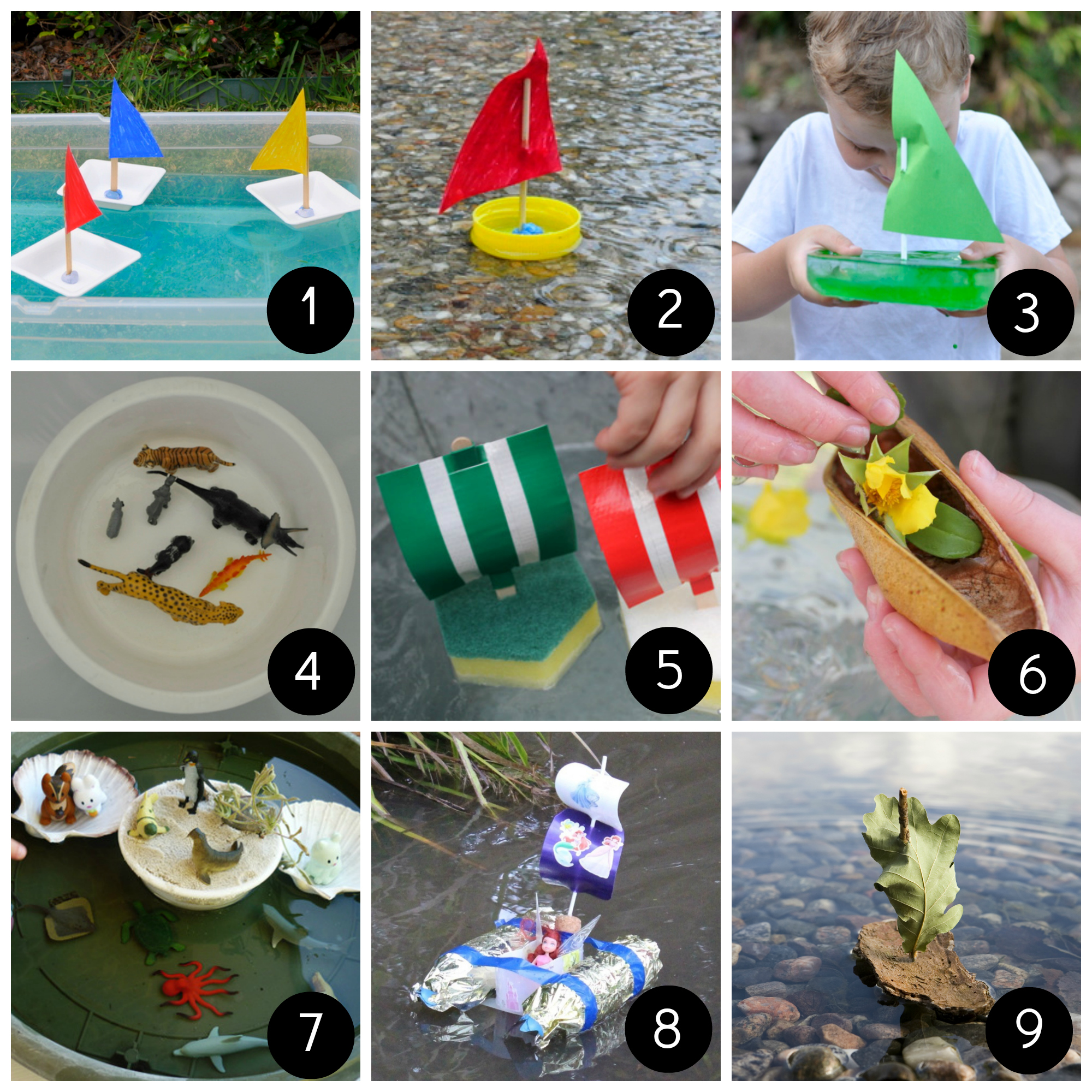 Five Homemade Boats | Boating, Homemade and Fun activities