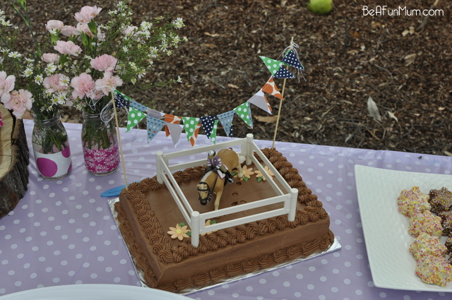 Easy Horse Birthday Cake