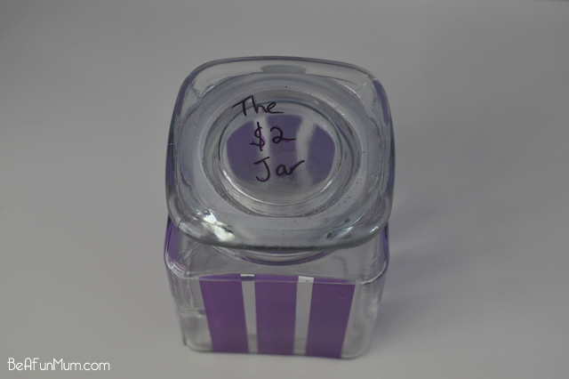 Create a $2 jar to save all your $2 coins. A 750ml jar will hold over $1,000 - on beafunmum.com